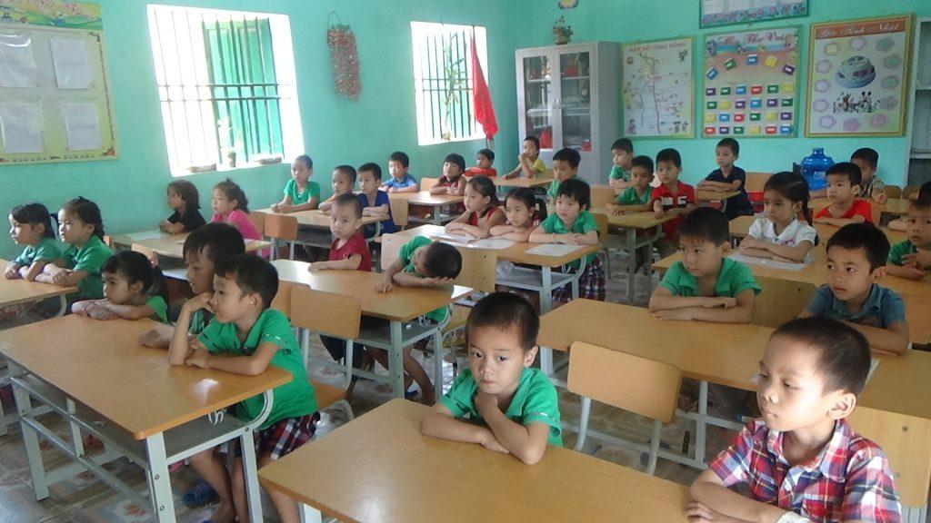 Tuyển sinh đã bắt đầu từ lớp 1