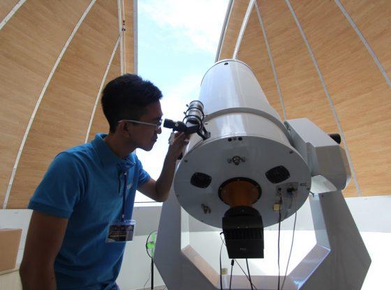 Kiến thức vũ trụ là nền tảng cho tương lai của nhiều thí sinh